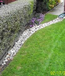 garden ideas landscaping with river rock ideas river rock