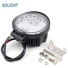 led work lights for trucks solicht 4 round 27w led work lights for truck 4x4 accessories off