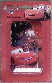 Lighting Mcqueen Bedroom Disney Pixar Cars Lighting Mcqueen Switchplate Cover