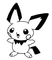 coloring pages pokemon pichu drawings pokemon