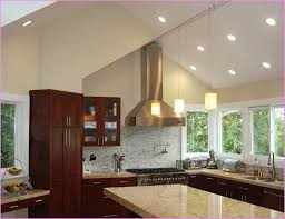 vaulted kitchen ceiling ideas sloped ceiling lighting hanging fabrizio design how to choose
