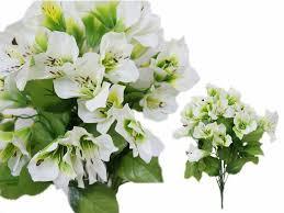 150 lilies artificial wedding silk craft flowers for