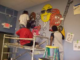 welcome to the international website of amario s art academy for academy students created this mural for the teens at work game activity room