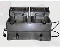 location materiel de cuisine friteuse électrique 2 bacs 8l location matériel de cuisine
