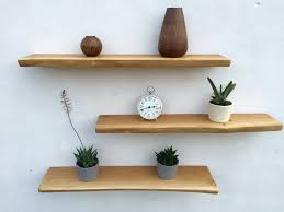 How To Decorate Floating Shelves Smartness Inspiration Oak Floating Shelves Fine Decoration 5