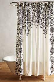 Unique Bathroom Shower Curtains Black Unique Boho Shower Curtains Liners Anthropologie