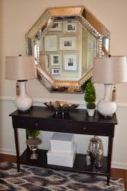 My Foyer Table Stunning Foyer Decor With Entryway Console Table And Large