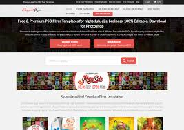 12 best recourses with free flyers templates free psd templates