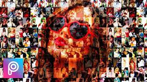 tutorial edit foto mozaik cara edit mozaik efek foto collage di picsart android youtube