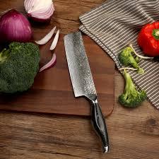 razor sharp kitchen knives aliexpress com buy 2017 sunnecko 7 inch cleaver knife damascus