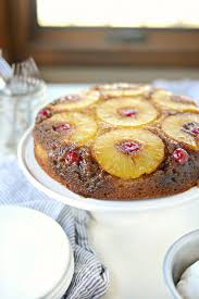 pineapple upside down cake simply scratch pineapple upside