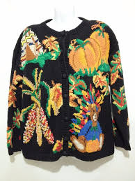 eagles eye thanksgiving sweater turkey teddy indian corn
