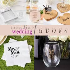 popular wedding favors trending tuesday popular wedding favors personal chef dinner