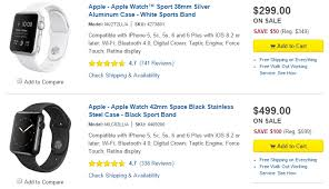 apple watch sales black friday black friday deal buy an apple watch and save up to 100