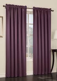 Purple Room Darkening Curtains S Lichtenberg Room Darkening Rod Pocket Panel Plum