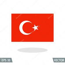 Ottoman Empire Flags Turkey And Ottoman Empire Flag Icon Stock Vector Lagunculus