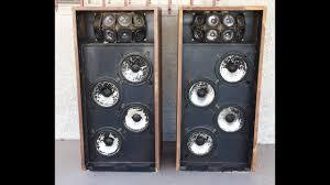 nice concert vintage speakers bozak b 407 rare youtube