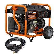 electric start emergency backup generators generac generators