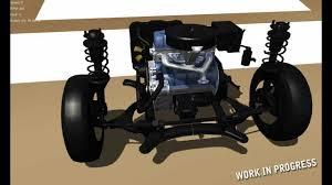 car front suspension 2 my summer car suspension rigging test youtube
