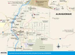 Mexico On Map Albuquerque New Mexico On Map Afputra Com