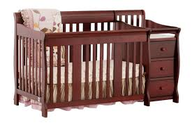 Baby Crib With Changing Table Baby Cribs And Changing Table Combo Oo Tray Design Simply Baby