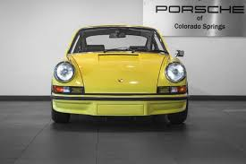 1973 porsche rs for sale 1973 porsche 911 rs 2 7 for sale in colorado springs co p2516