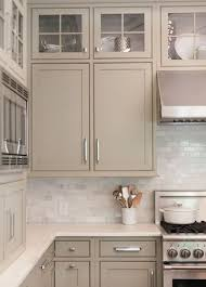 Paint Colours For Kitchen Cabinets by Best 25 Taupe Kitchen Cabinets Ideas On Pinterest Beautiful