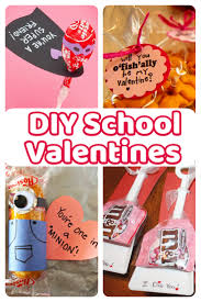 school valentines diy school cards for classmates and teachers simple