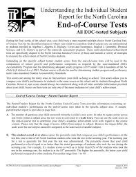 end of course tests understanding the individual student all eoc
