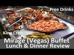 The Mirage Buffet Price by Mirage Vegas Buffet Lunch U0026 Dinner Video Review King Crab