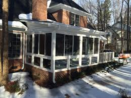 belk builders completes a screened porch to sunroom conversion in