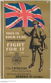 British Flag Ww1 Canadian First World War Enlistment U0026 Propaganda Posters Canada