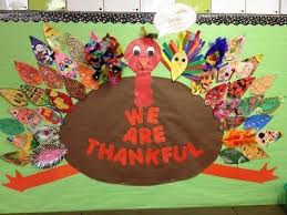 thanksgiving bulletin board idea i that no two feather