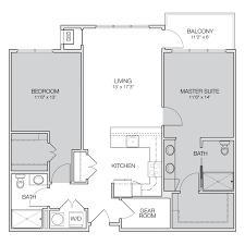 two apartment floor plans floor plan c greenbelt apartments