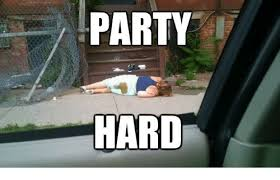 Party Hard Meme - party hard advice dog meme on sizzle