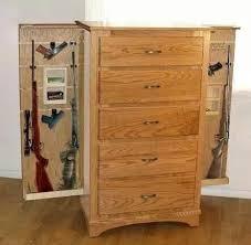 Building A Gun Cabinet Hidden Gun Storage Plans Storage Decorations