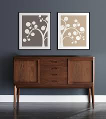 willow tree home decor set of two 8x10 whimsical tree prints willow modern art home