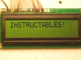 Instructables Connecting An Lcd To The Arduino 3 Steps