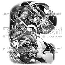 tattoofinder com warrior design by east