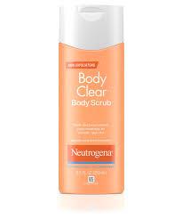 bath body body wash body oil moisturizers neutrogena body clear reg body scrub