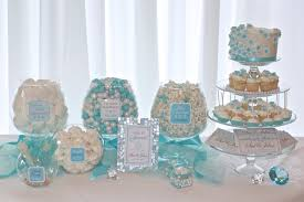 Baby Shower Boy Wall Decorations Candy Table Ideas Fory Shower Silver Christmas Centerpieces
