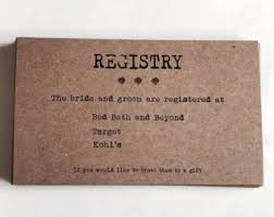 s bridal registry wedding registry template wedding registry card enclosure