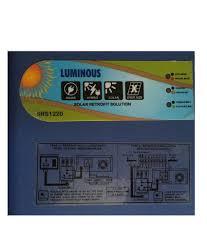 luminous solar retrofit charge controller 12 volt 20 amp solar
