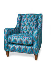 Teal Accent Chair by Crave 057 Directsuites