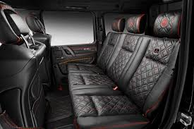mercedes benz g class white interior brabus gives mercedes benz g500 4x4 more power torque and style