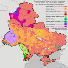 Moldova Map Languages Spoken At Home In Ukraine Belarus And Moldova Maps