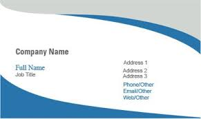 business card templates insurance