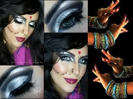 Gypsy Makeup Tutorial Halloween by Bollywood Belly Dance Makeup For Halloween Youtube