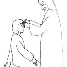 Blind Bartimaeus In The Bible Bible Story Coloring Page For Jesus And The Man Born Blind Free