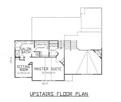 Upstairs Floor Plans by Traditional Style House Plan 4 Beds 3 00 Baths 2900 Sq Ft Plan